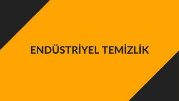 Endüstriyel Temizlik